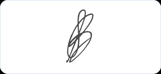 Barbara Corcoran signature