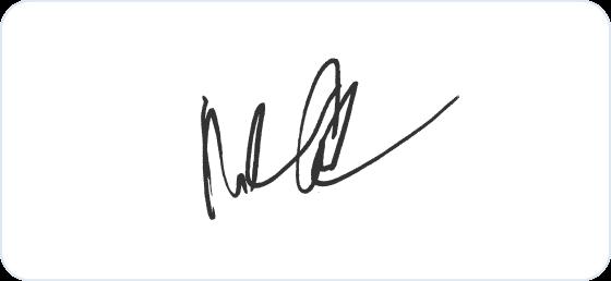 Mark Cuban signature