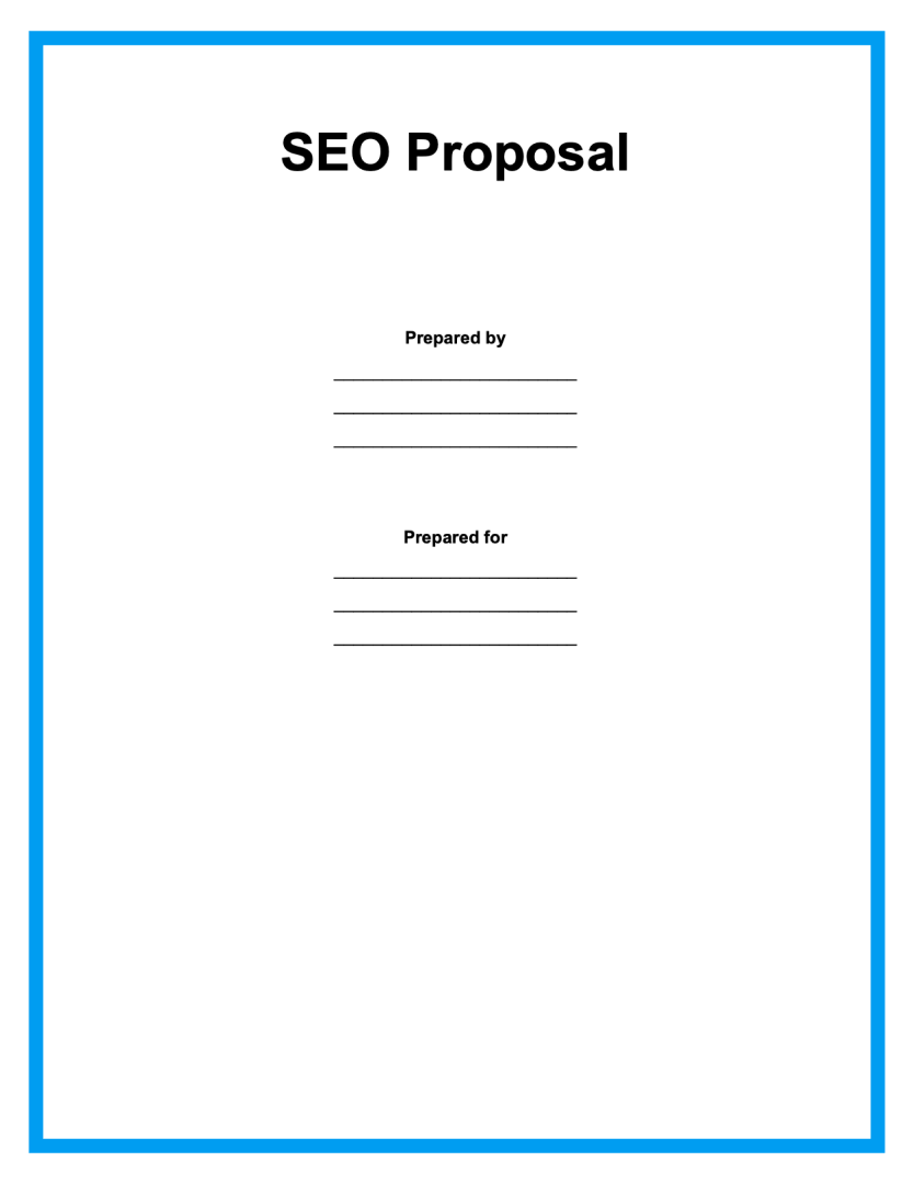 SEO contract template page1