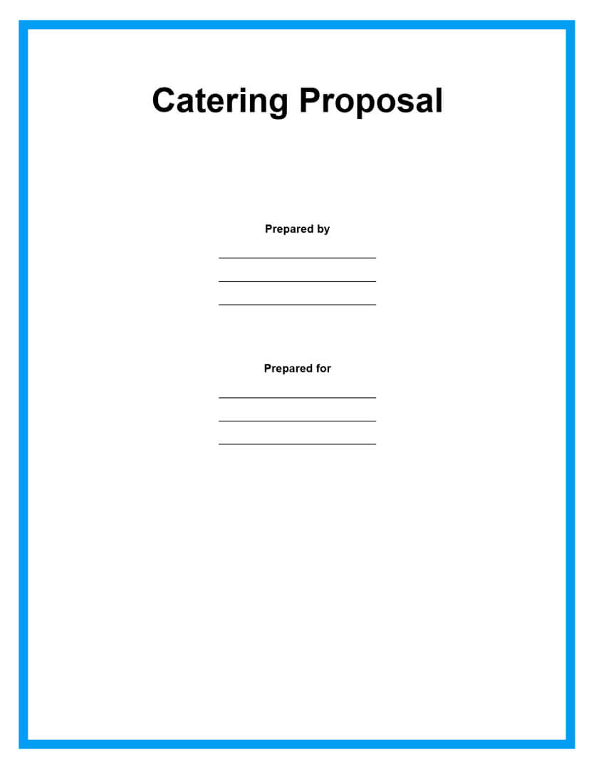 catering proposal template page 1