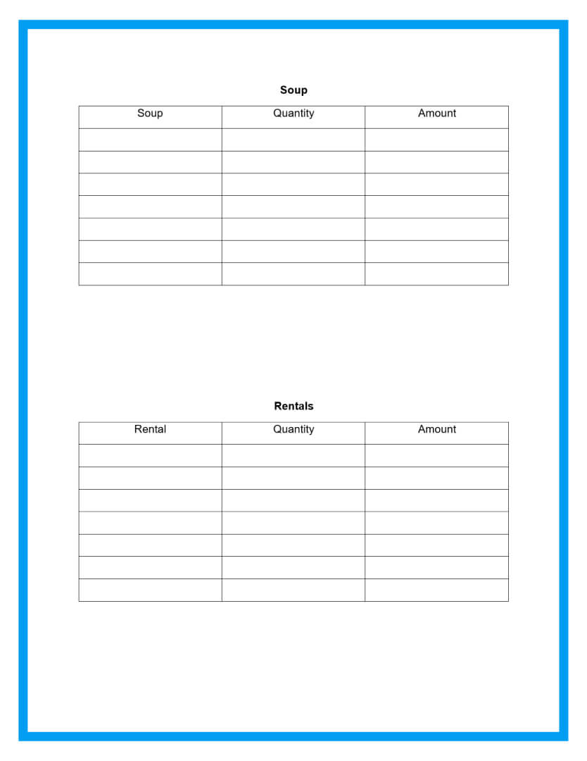 catering proposal template page 4
