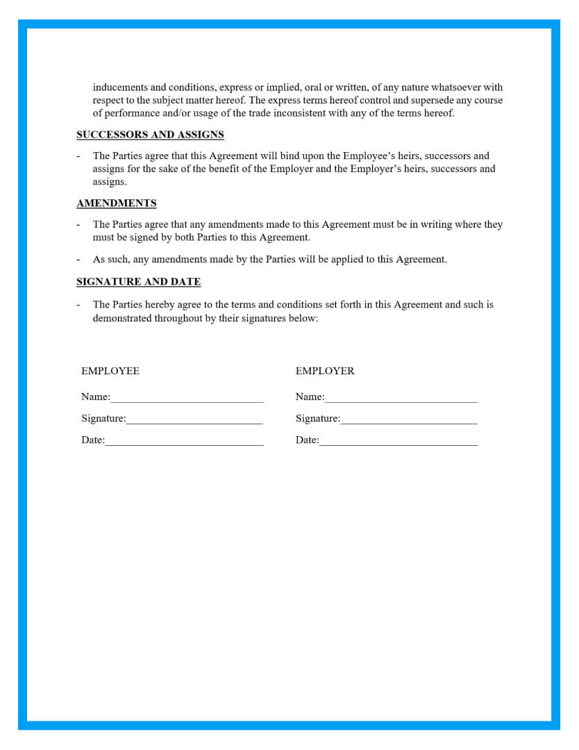 intellectual property agreement template page 3