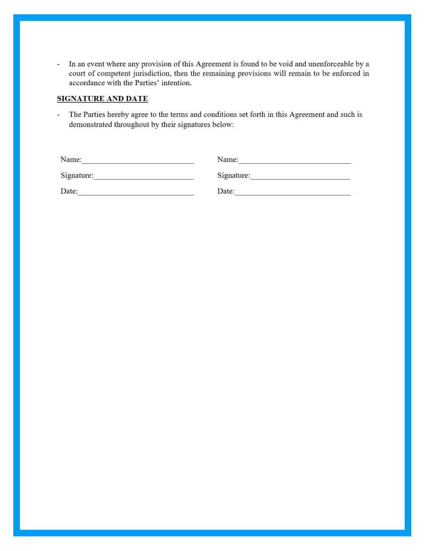 memorandum of understanding template page 3