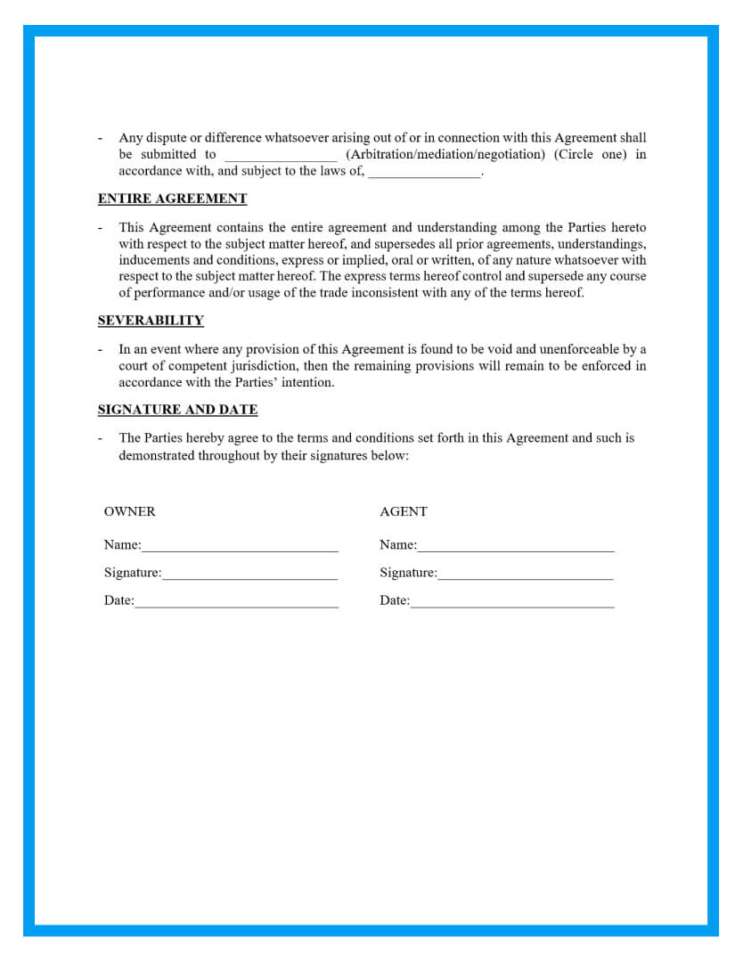 property managementagreement template page 3