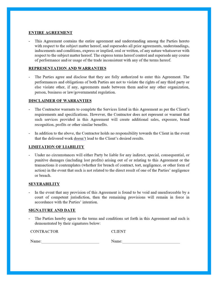 remodeling contract template page 3