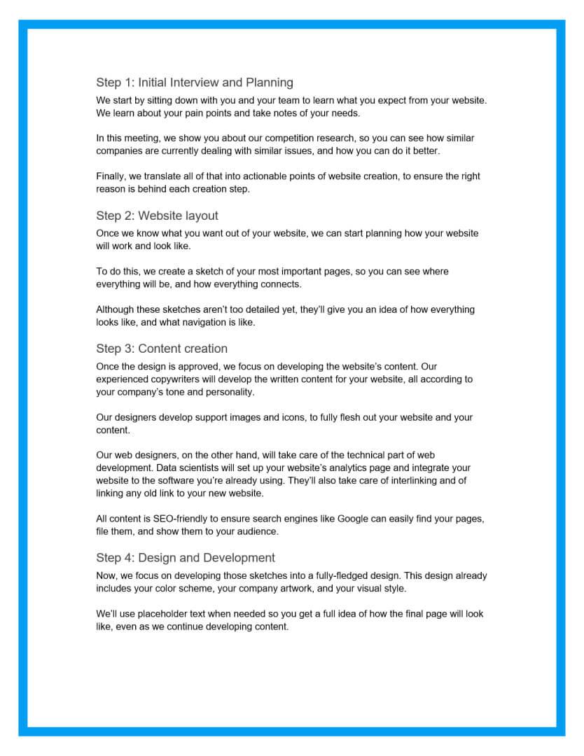 website design proposal template 3