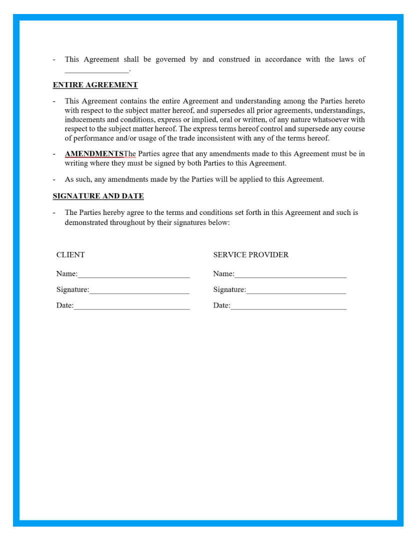 work for hire agreement template page 4