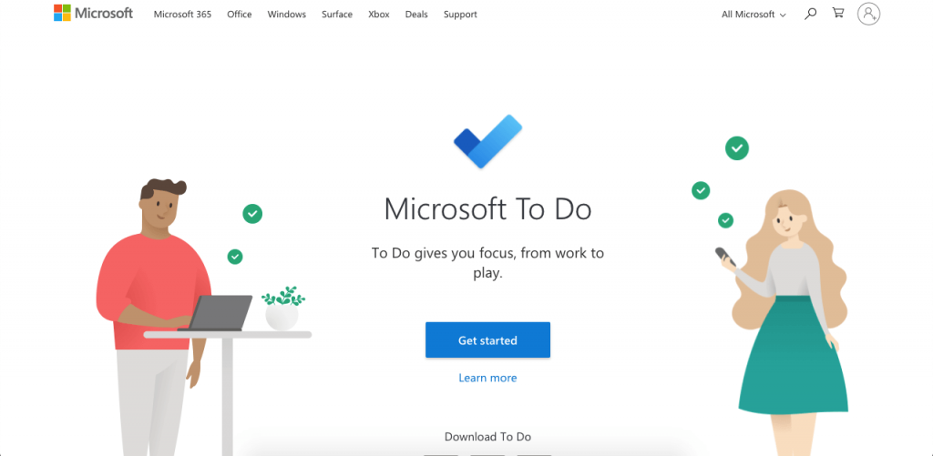 Microsoft To Do is a powerful to-do app for paperless lists.