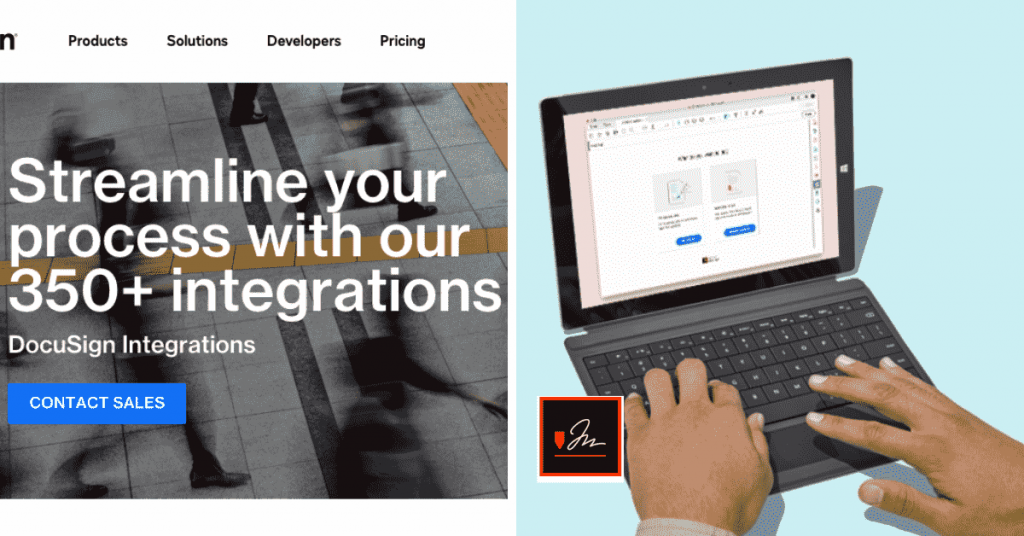Both Adobe Sign and DocuSign have a list of powerful integrations that make it easy to upload documents and use business-related software with their tools.