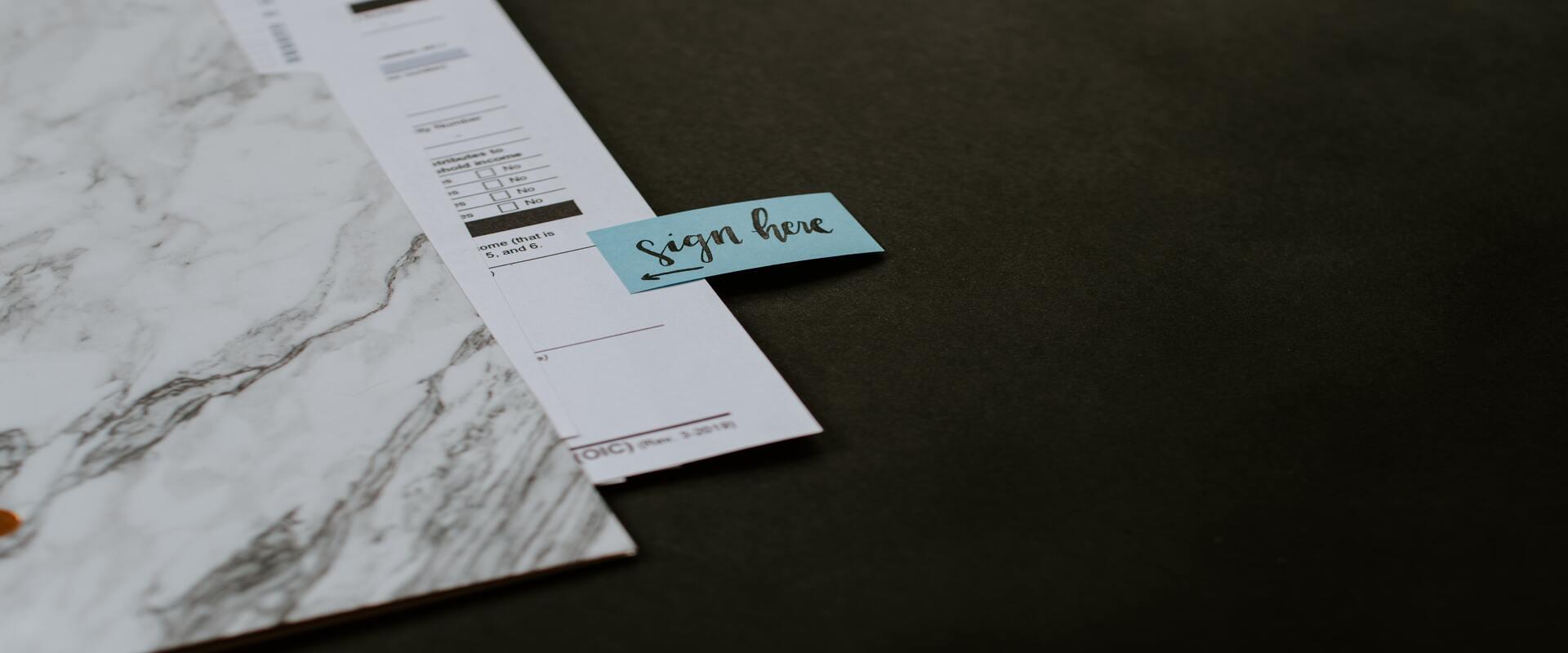 How to create a digital signature