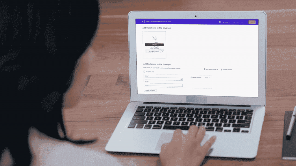 Docusign is filled with useful advanced online-signing features.
