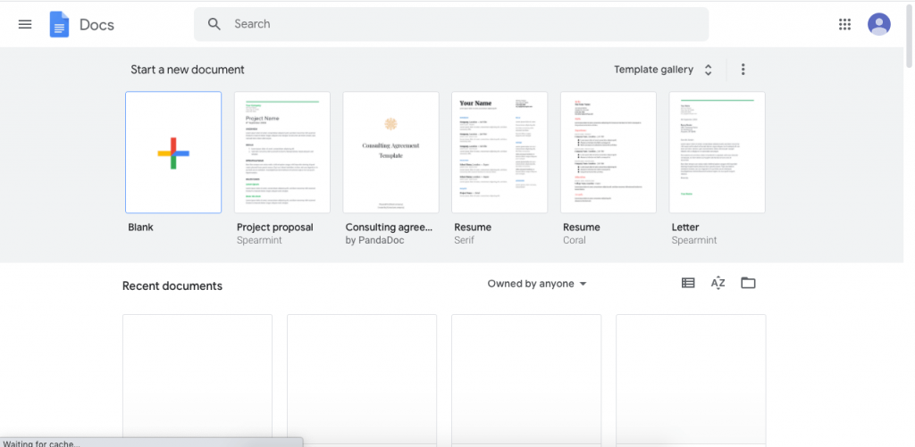 Google Docs is part of Google's free cloud-based office suite, accessible through any Google account.