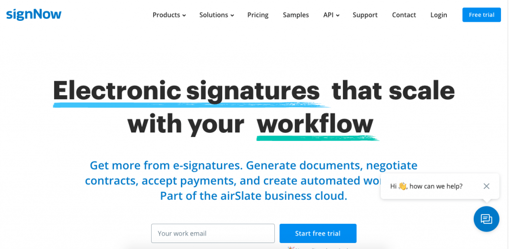SignNow is a good DocuSign alternative for anyone looking for a simple platform.
