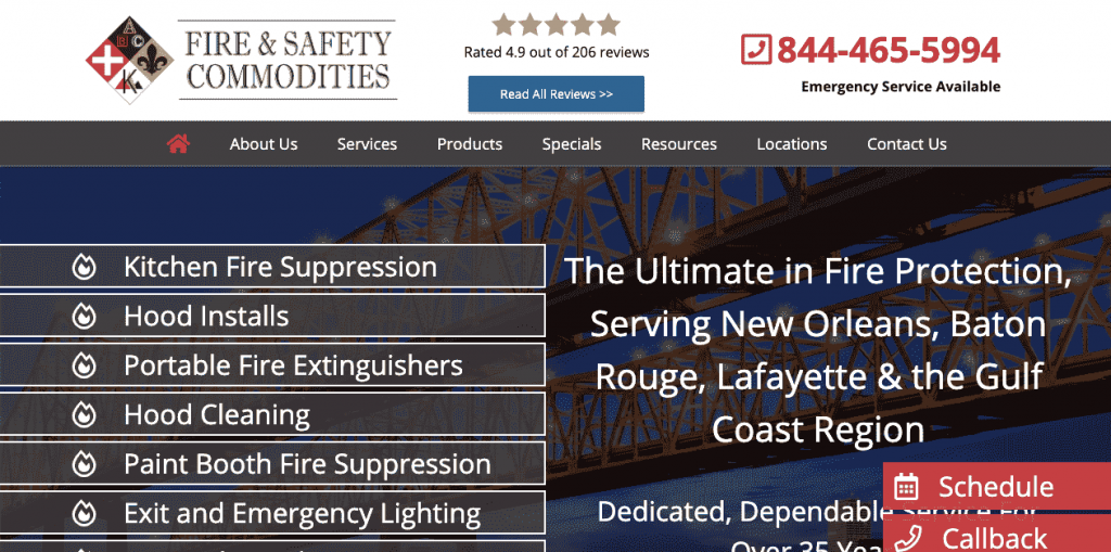 By filling up all information digitally, fire & safety commodities was able to perform inspections faster, safer, and more accurately