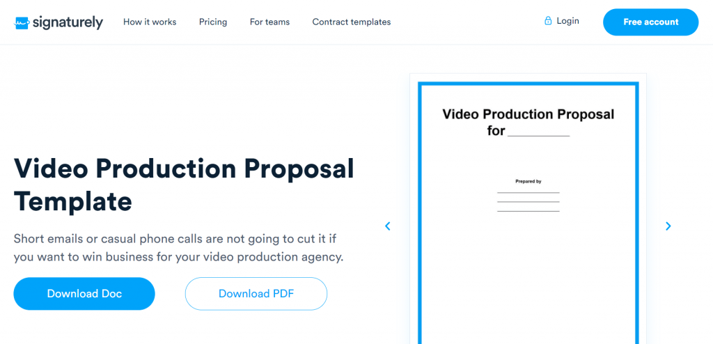 Do you run a video production agency? You might be interested in the free Video Production Proposal template.