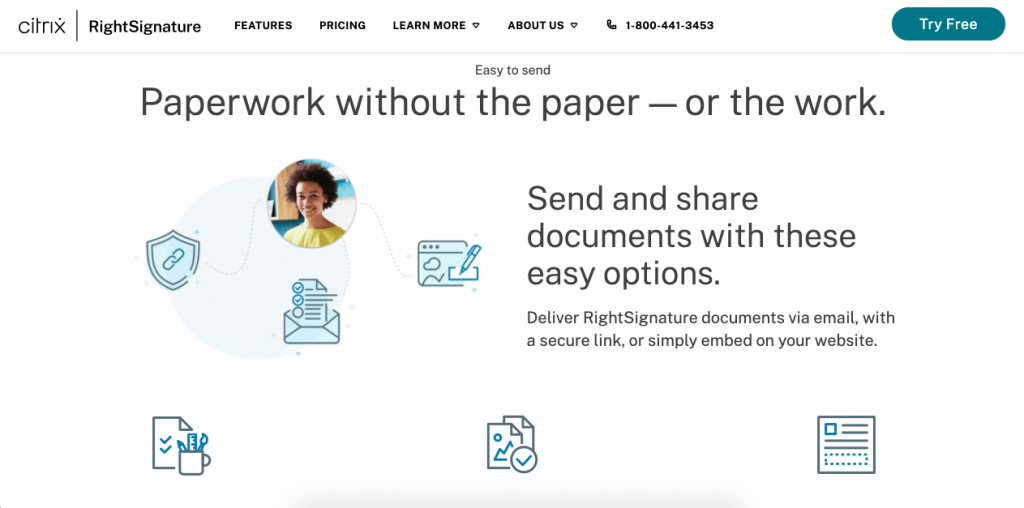 Features are one of the most important things to consider when choosing an online signature solution.