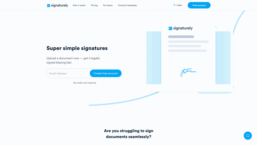 With Signaturely, you remain in control throughout the signing process.
