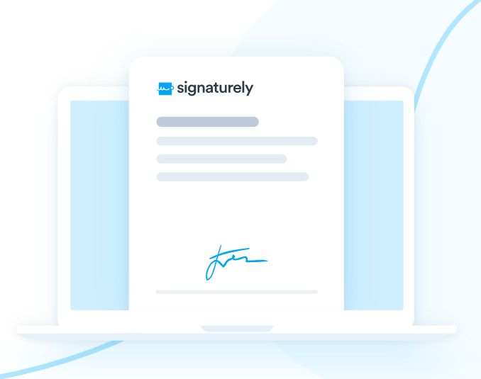 You can upload your legal documents to Signaturely and easily adapt them to be signed online.