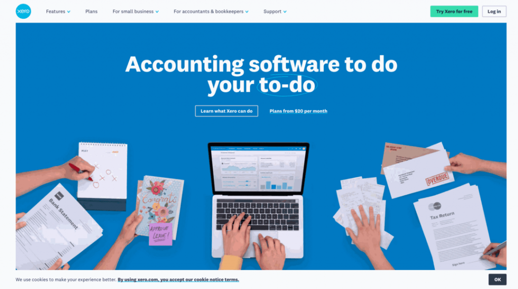Xero is an accounting software with simple quote creation capabilities