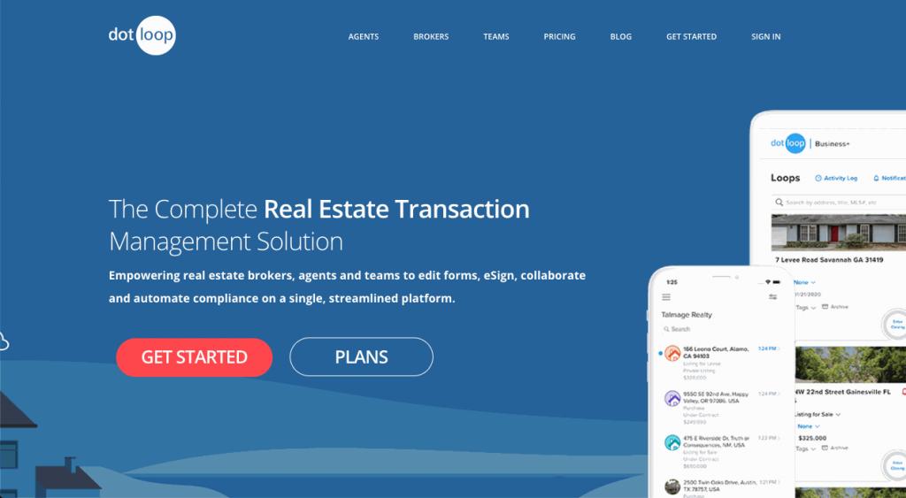 Dotloop is focused on real estate professionals