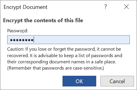 Encrypt contents of a file