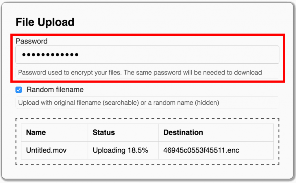 Password protect documents on Mac