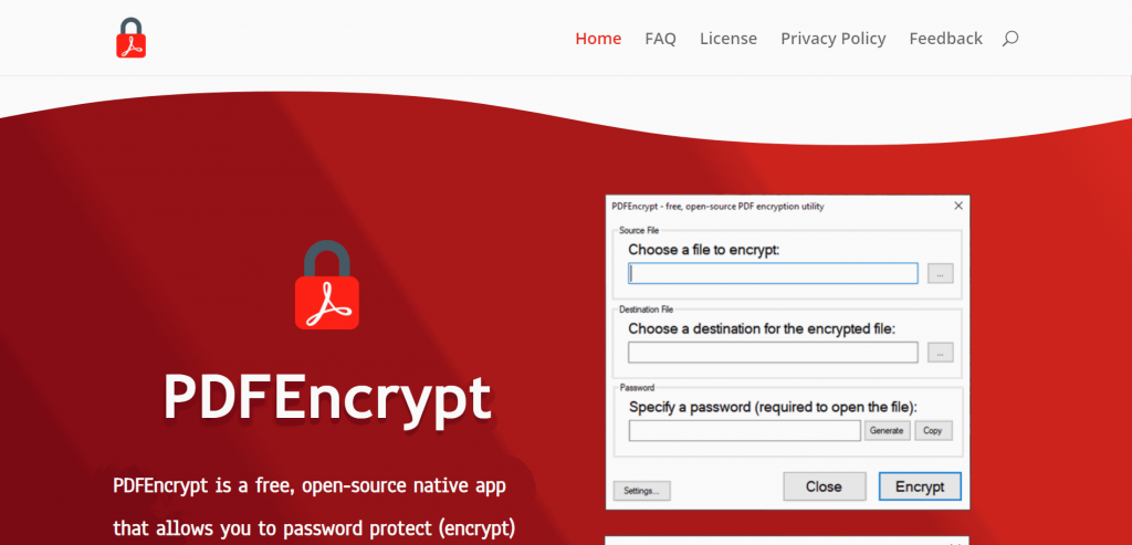PDF encrypt
